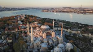 Hagia Sophia is one of Istanbul's main tourist attractions (AP)