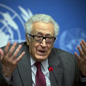 UN mediator for Syria Lakhdar Brahimi is striving to get both sides moving towards an agreement (AP)