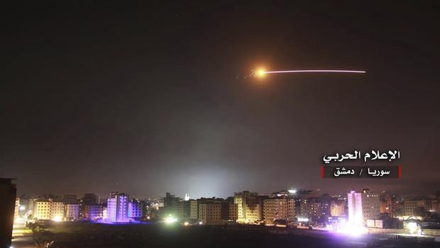 Israel said the strike was in retaliation for a previous attack on Israeli installations (AP)