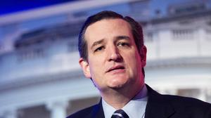 Ted Cruz is to announce that he is running for president (AP)