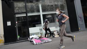 Daytime exercise has now been banned in Paris (AP/Francois Mori)