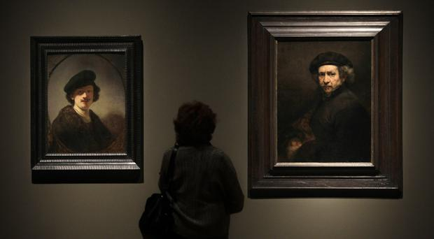 It marks the 350th anniversary of the death of Rembrandt (Amy Sancetta/AP)