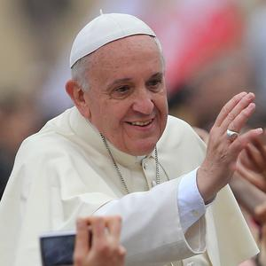 Pope Francis has met the Archbishop of Canterbury in Rome