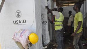 A new treatment centre is being constructed in Monrovia, Liberia to cope with the Ebola outbreak