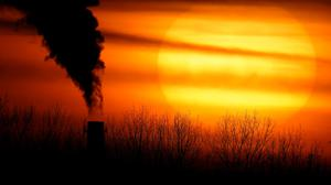 Emissions from a coal-fired power plant (Charlie Riedel/AP)