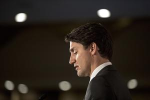 Canadian Prime Minister Justin Trudeau (Chris Young/The Canadian Press via AP)