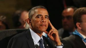 Barack Obama says the hi-tech attack against Sony Pictures Entertainment is a very expensive example of cyber-vandalism