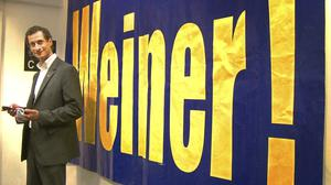Anthony Weiner in a scene from the documentary Weiner (Showtime/AP)