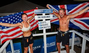 Anna and Cameron McLean completed the Talisker Whisky Atlanta Challenge