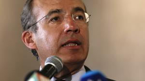 Mexico's former president Felipe Calderon says Donald Trump's immigration comments are sowing anti-American hate around the world (AP)