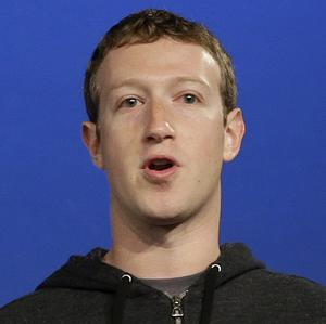 Facebook chief executive Mark Zuckerberg cashed in on stock options last year in the social networking company that he founded (AP)