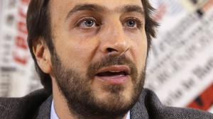 Italian journalist Emiliano Fittipaldi is among five people indicted (AP)