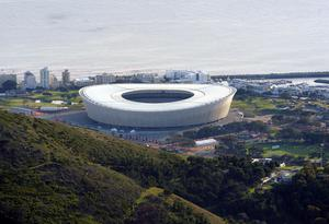 Green Point Stadium in Cape Town, South Africa, in the 2010 World Cup (Owen Humphreys/PA)