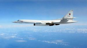 A Russian long range Blackjack bomber (Ministry of Defence/PA)