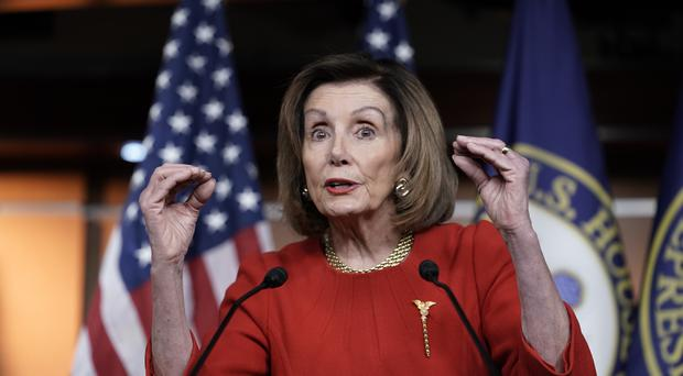 House Speaker Nancy Pelosi the day after the House of Representatives voted to impeach President Donald Trump (J Scott Applewhite/AP)