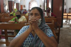 Churches have reopened after lockdown in India (AP/Mahesh Kumar A.)