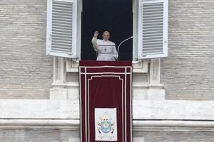 Some conservatives have criticised the pope for his perceived softening of doctrine on LGBT issues (Andrew Medichini/AP)
