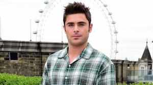 Zac Efron could not attend the High School Reunion tribute, but instead recorded remarks to be broadcast