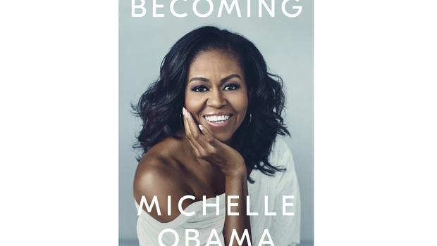 Becoming by Michelle Obama comes out in November (Crown Publishing Group via AP)