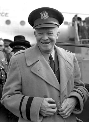 Dwight D. Eisenhower was the first president Wilson Jerman worked for (PA)