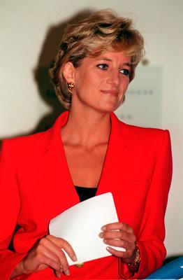 Very enigmatic: Princess Diana