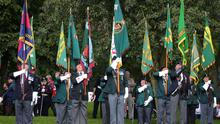Veterans gather in Lisburn to mark the 50th anniversary of Operation Banner