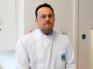 Taoiseach Leo Varadkar during a visit to the UCD National Virus Reference Laboratory