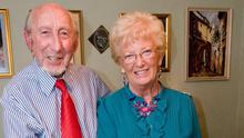 James Mehaffey with wife Thelma
