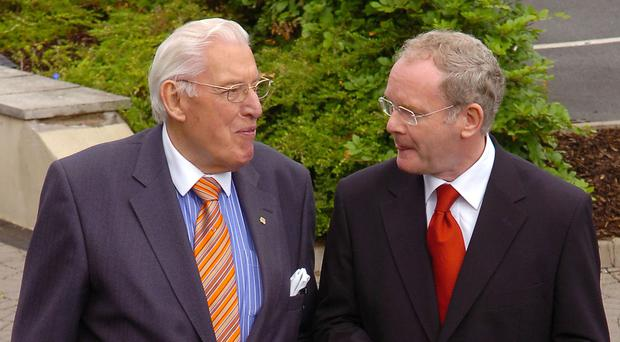 The possibility of basing politics on inclusivity and respect effectively died with Ian Paisley and Martin McGuinness
