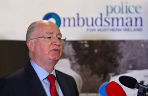 Ombudsman Dr Michael Maguire