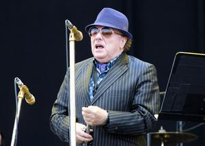 One voice: Van Morrison has spoken out about the resumption of live music