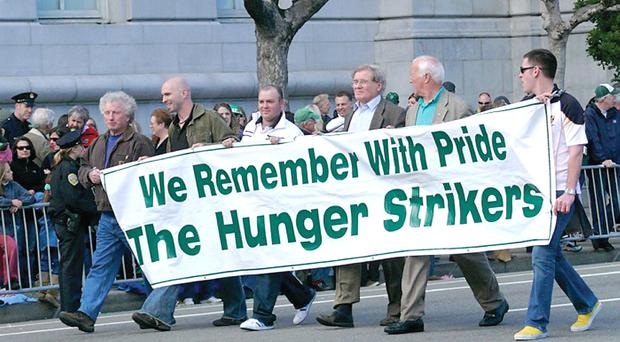 Noraid supporters on the streets of San Francisco. The Irish government often boycotted events when republicans were taking part