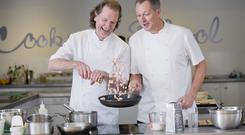 Paul Ranking and Nick Nairn