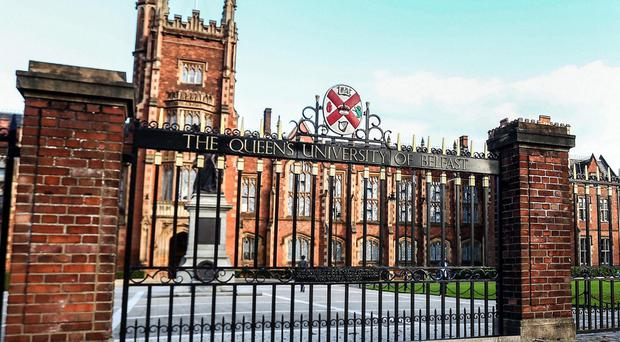 Third level seats of learning such as Queen's University (pictured) and the Ulster University should be more than just places to take money off their 'customers', i.e students