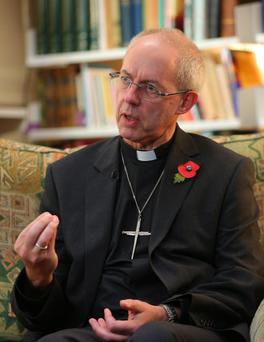 The Archbishop of Canterbury Dr Justin Welby, who has called the ban 'extraordinary