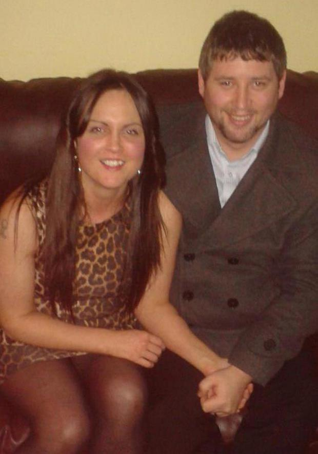 Michael McGibbon and wife Joanne