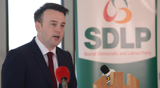 SDLP leader Colm Eastwood