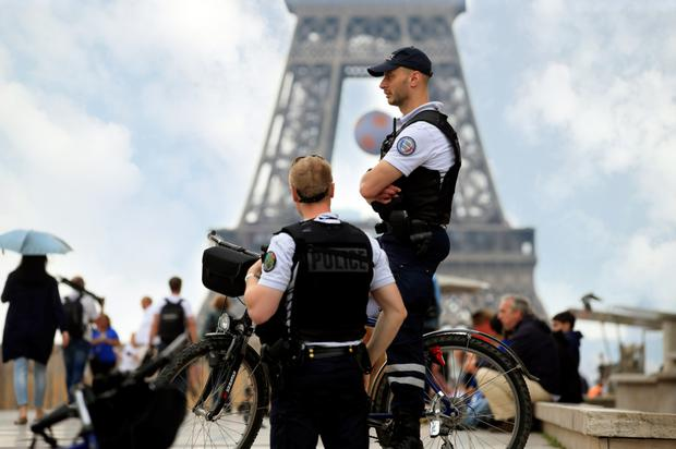 Police on alert in Paris as Northern Ireland fans arrive to cheer on their heroes