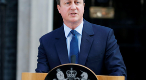 Prime Minister David Cameron outside 10 Downing Street, London, where he announced his resignation