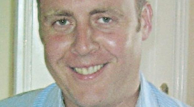 Adrian Donohoe died after being shot as he confronted a gang holding up a small credit union