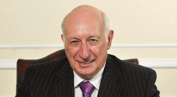 Robin Newton has been criticised over the Charter NI affair