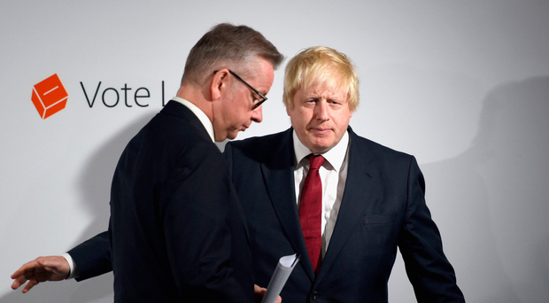 Michael Gove and Boris Johnson have supposedly teamed up to deliver a letter to Theresa May on Brexit