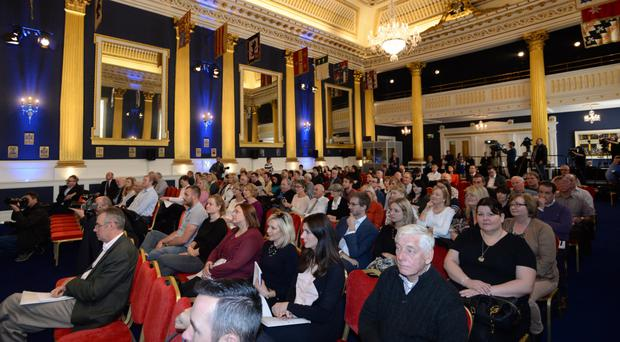 A citizens' assembly in Dublin Castle. A similar idea has been mooted for Northern Ireland