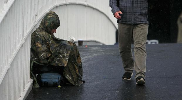 Begging on our streets is a massive issue, and it is illegal