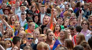 Thousands attend Belfast Pride