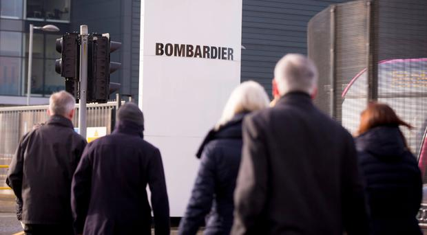 Bombardier workers face an uncertain future following yesterday's announcement by the company on job losses