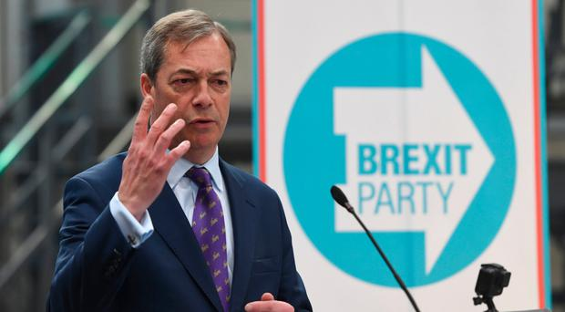 Nigel Farage launches the Brexit Party's European Parliament elections campaign