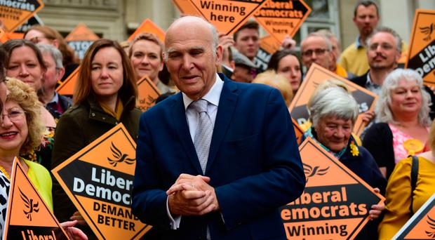Lib Dems leader Vince Cable