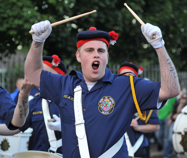 The FICT was set up to examine issues surrounding band parades, flags, identity, culture and tradition.