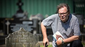 Tom Hartley in Milltown Cemetery